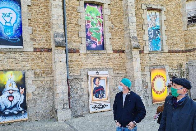 Pour que la culture vive : trois expositionsen plein air dans la ville