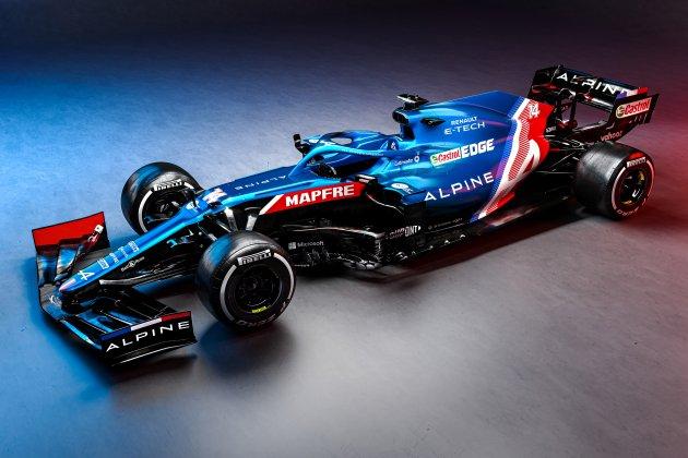 Formule 1: Alpine dévoile les couleurs de sa monoplace