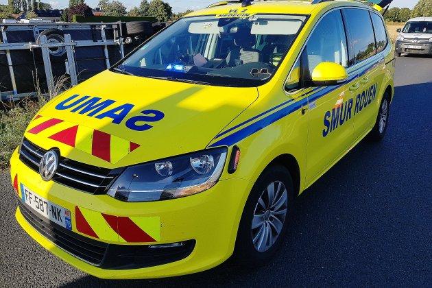 Un blessé grave dans une collision entre un bus et une voiture