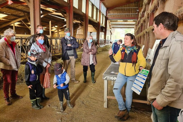 Une ferme laitière ouvre ses portes à la population