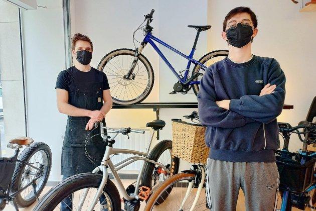 Des vélos électriques sur mesure à Rouen
