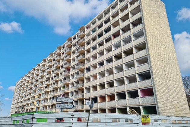 Le chantier de déconstructionde l'immeuble Soranoest lancé