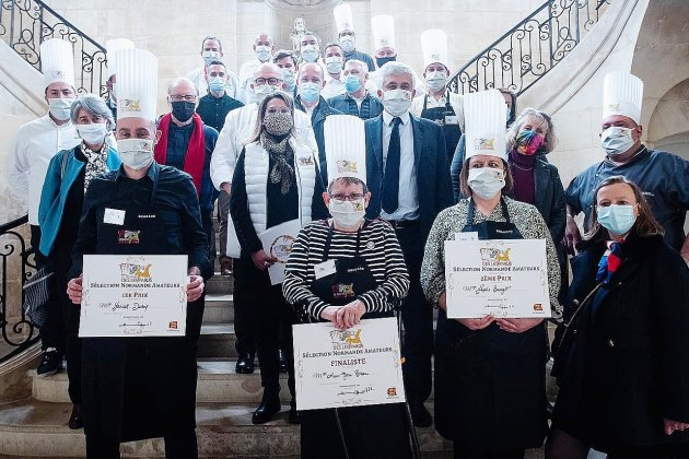 Normandie. Trophée des Léopards: trois cuisiniers amateurs en finale