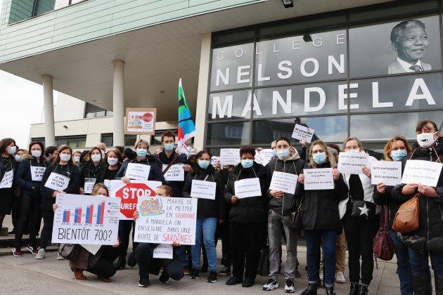 [Vidéo] Elbeuf. 650 élèves pour 500 places, le ras-le-bol au collège Mandela