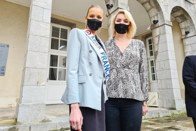 Amandine Petit,Miss France 2021,de passageà Coutances