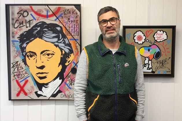 David Karsenty présente son So cult family club à la galerie Hamon