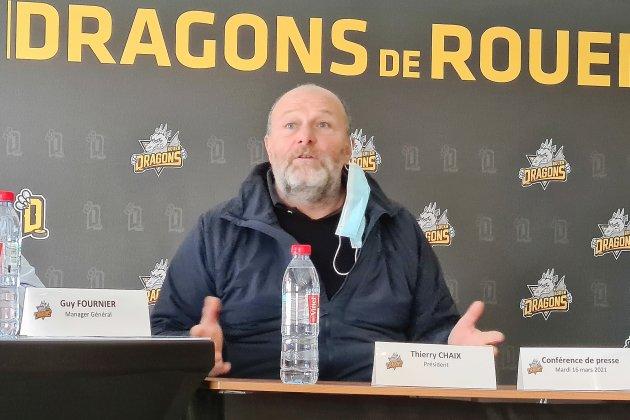 Après une saison éprouvante, Thierry Chaixsavoure le nouveau titre de ses Dragons