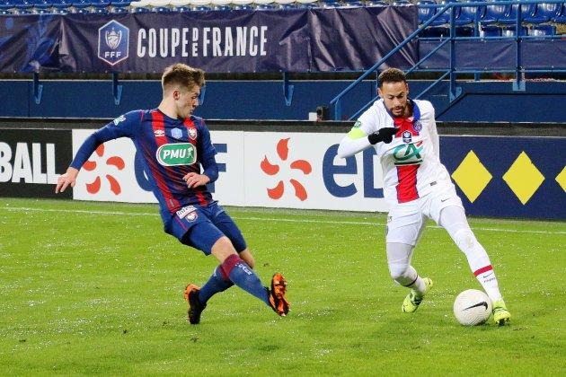 Le Granvillais et Malherbiste Johann Lepenant en équipe de France U19
