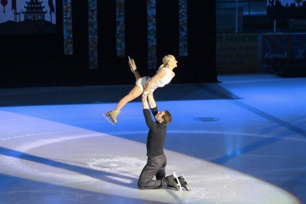 Le patineur champion olympique Bruno Massot revient à la maison