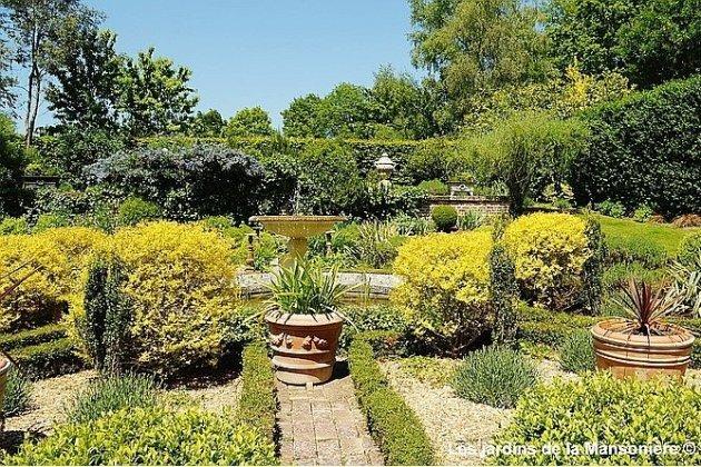 Jardins de la Mansonière : un coin de paradis dans un des plus beaux villages de France