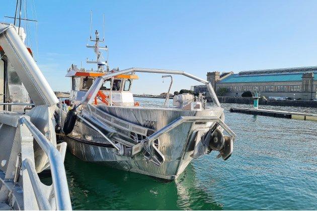 [Vidéo] Cherbourg-en-Cotentin. Troisnavires prêts àdépolluer le Canal de Suez