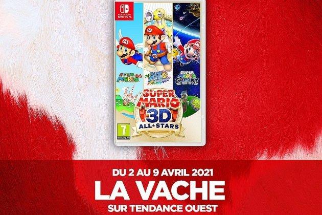La Vache Tendance Ouest vous fait gagnerSuper Mario 3D AllStars