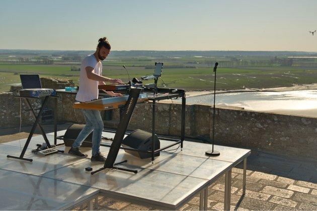 Unmillion de vues pour le concert inédit sur la terrasse de l'Abbaye