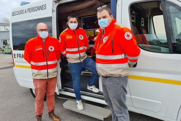 Les secouristes de la Croix Rouge en renfort en Ile-de-France
