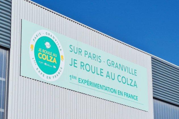 Premiers retours positifs pour les trains au colza du Paris-Granville