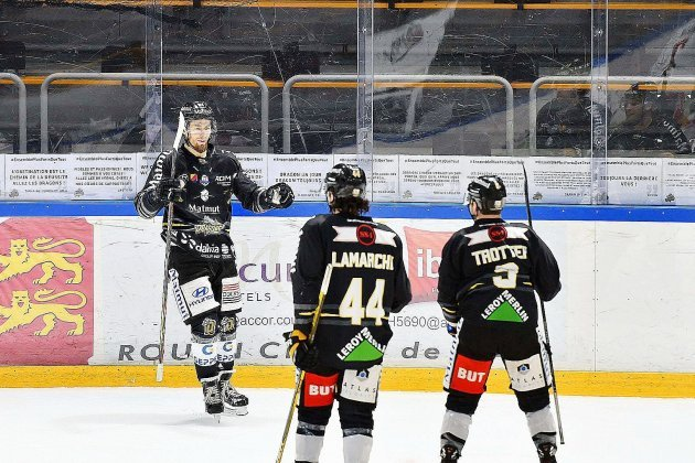 Hockey sur glace. Les Dragons de Rouen conservent leurtitre de champion de France