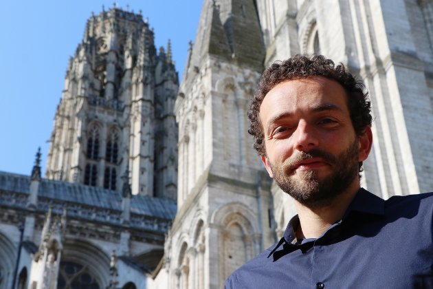Guillaume Gohon, guide-conférencier et amoureux de la cathédrale