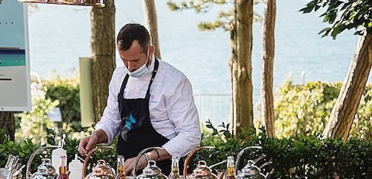 La Boîte noire de Top Chef fait étape à Giverny avec David Galienne