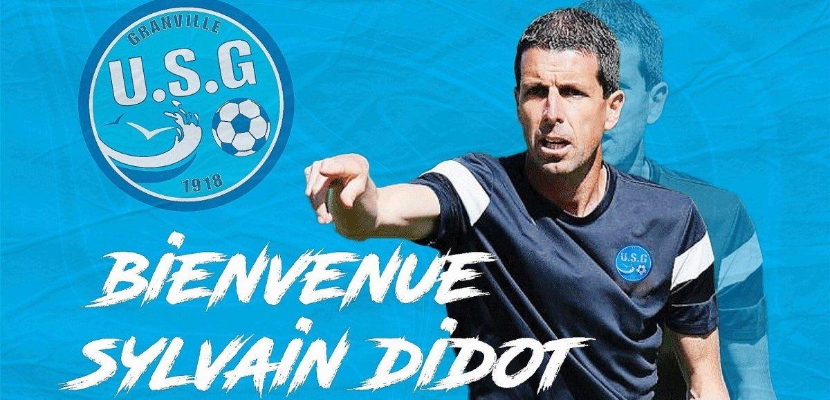 Sylvain Didot est le nouvel entraîneur de l'US Granville