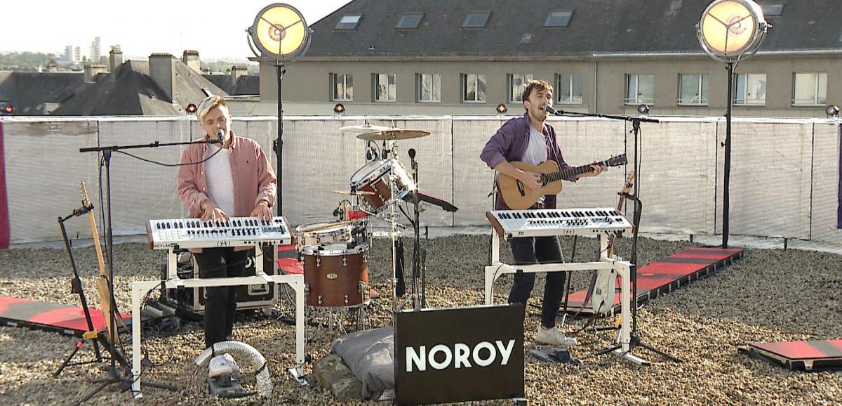Le groupe Noroy en concert digital depuis le Zénith
