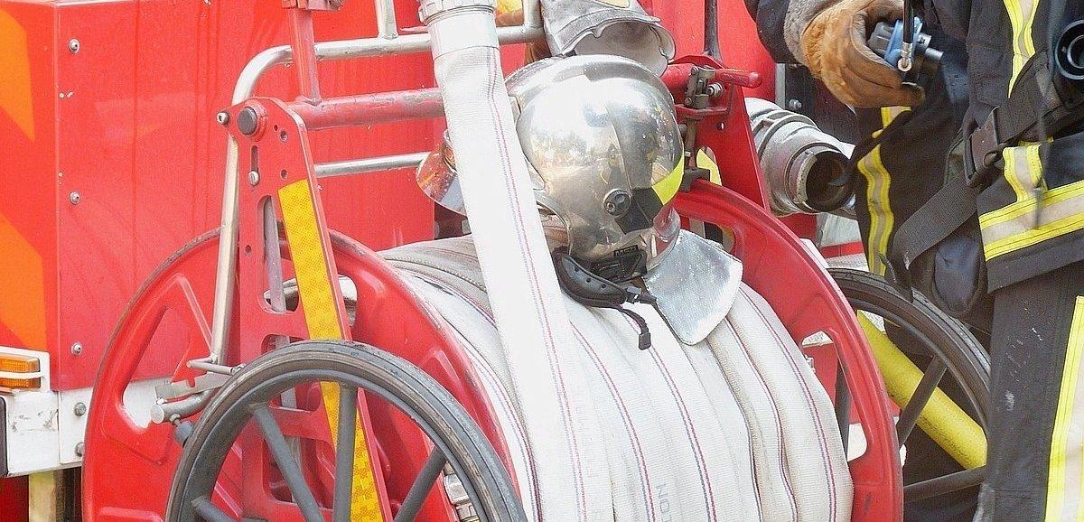 Les pompiers mobilisés sur deux feux de garage