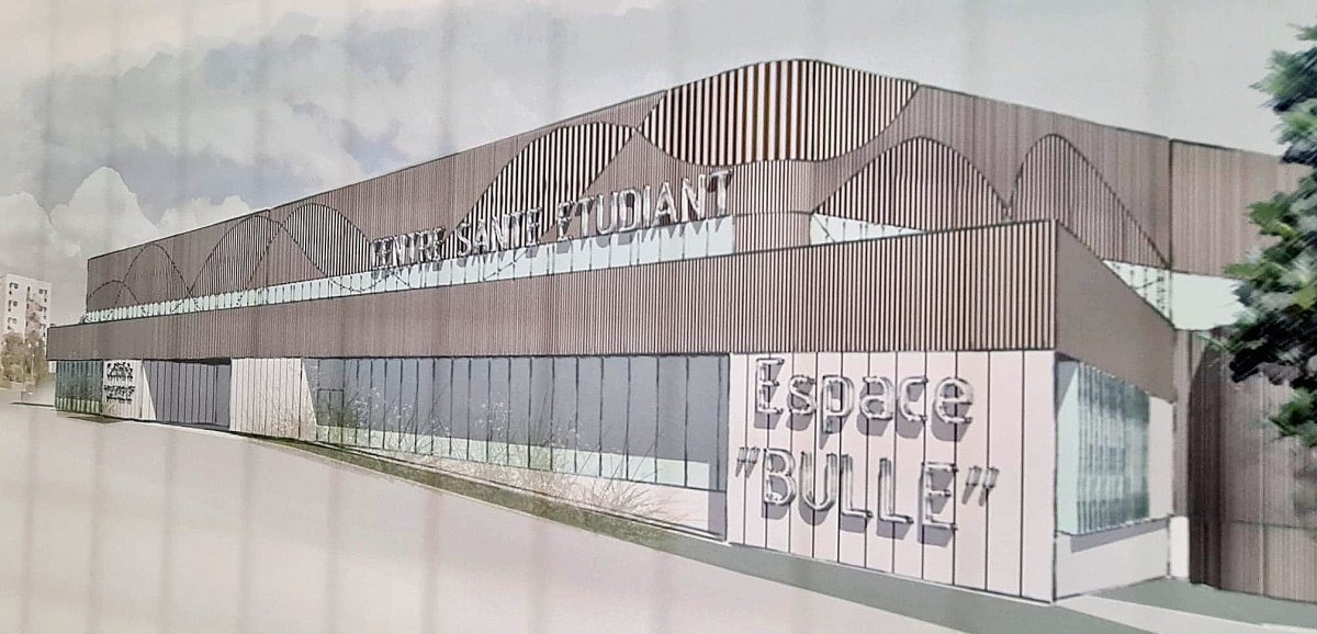 Un centre de santé à l'Université prévu pour 2022
