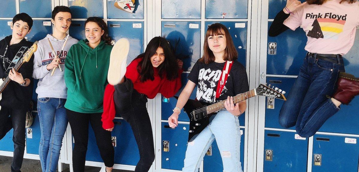 Le School Of Rock saute une classe et dévoile sa première démo