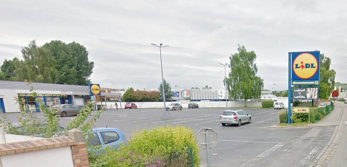 30 personnes confinées dans le magasin Lidl après une fuite de gaz