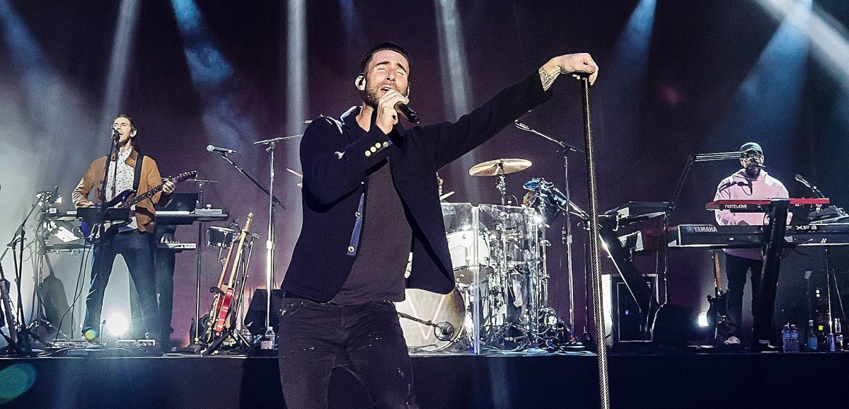 Musique. Les Maroon 5sontde retour avecleurseptième album : Jordi