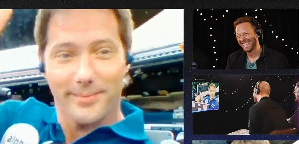 Coldplay s'offre le premier clip titre de l'histoire dévoilé dans l'espace grâce à Thomas Pesquet