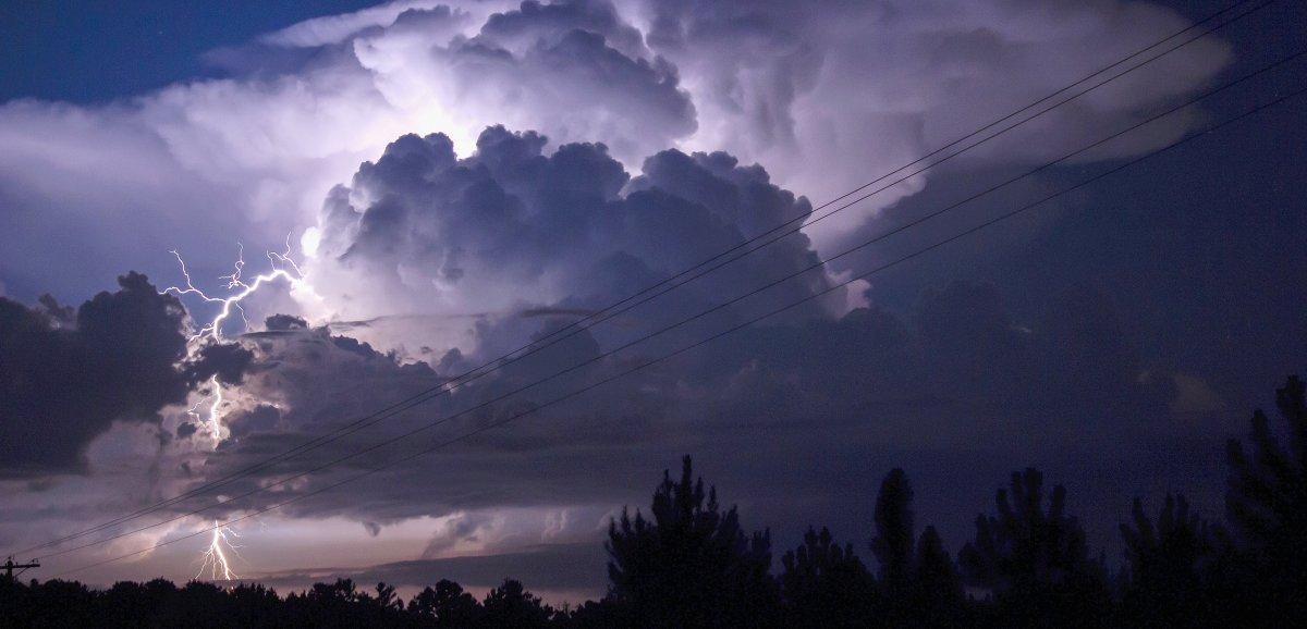 Orages: 1087 éclairs recensés dans le département