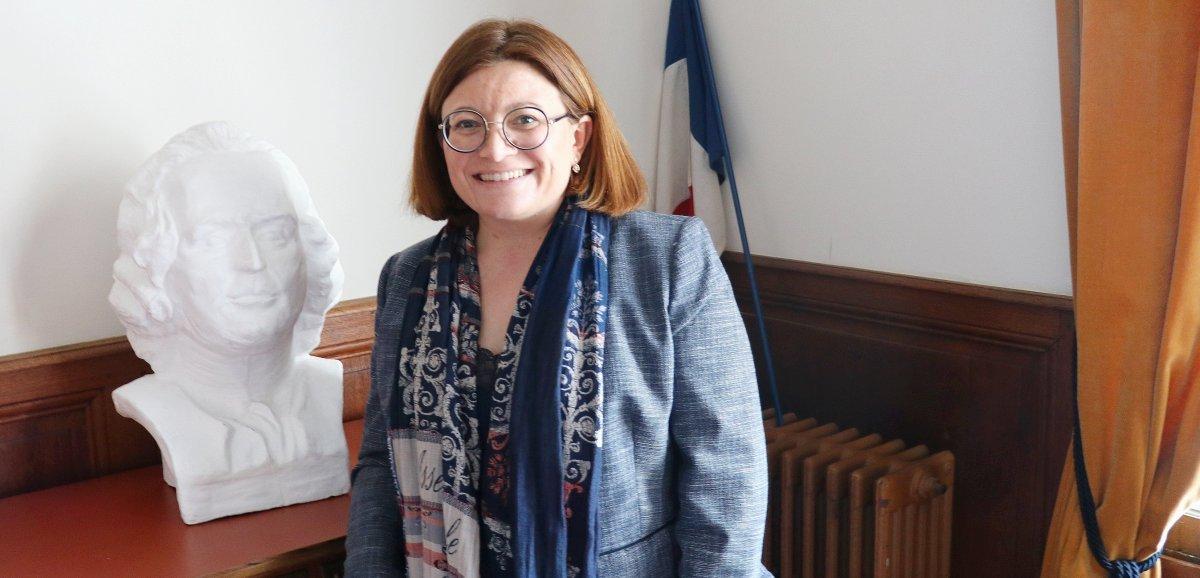 Stéphanie Kerbarh, députée LREM, candidate à la présidence de la Normandie