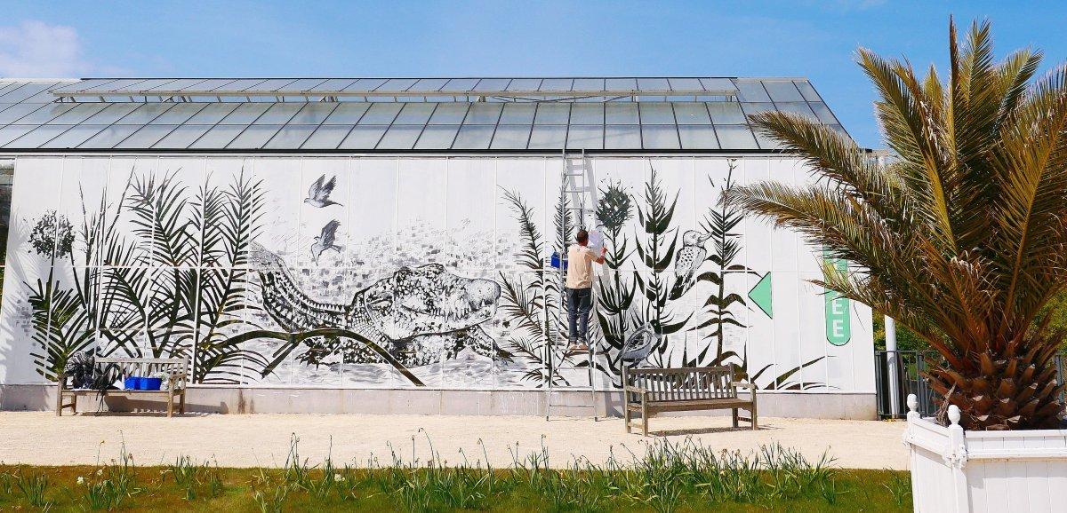 Le Havre. La magie blanche de Nefase et Kero prend vie aux Jardins suspendus
