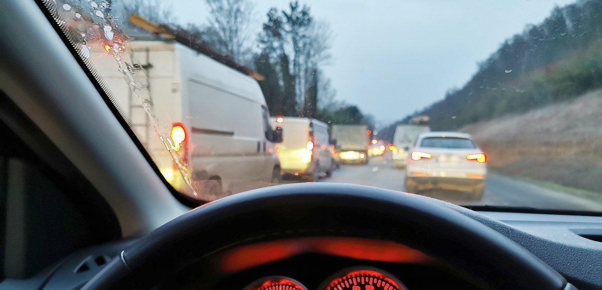 Retour du week-end de l'Ascension, accident et suraccident sur l'A150