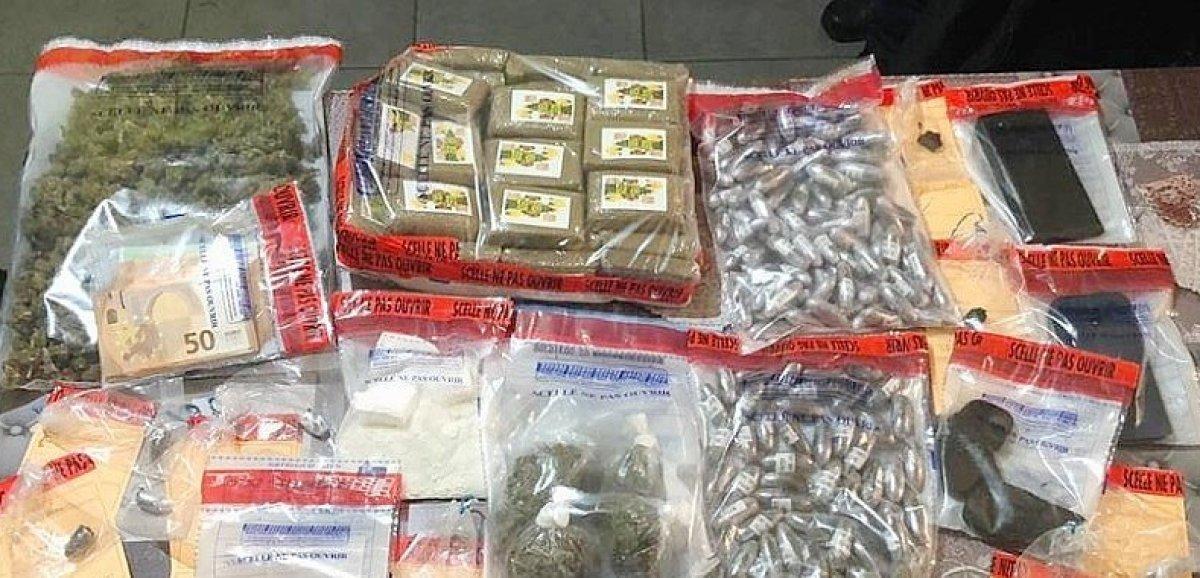 Manche. Vaste coup de filet anti-drogue dans le centre du département