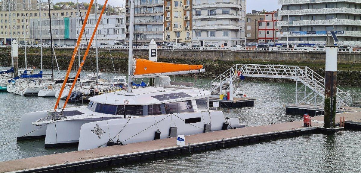 Boatin'France s'est installé auHavre pour vendre des voiliers de luxe