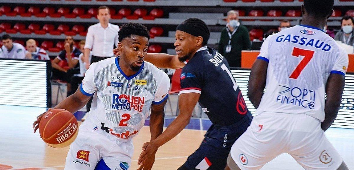 Le Rouen MBcoule avantle derby contre Évreux
