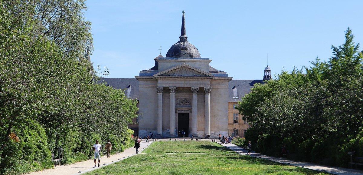 Rouen. Coup de neuf sur le dôme de l'église de la Madeleine