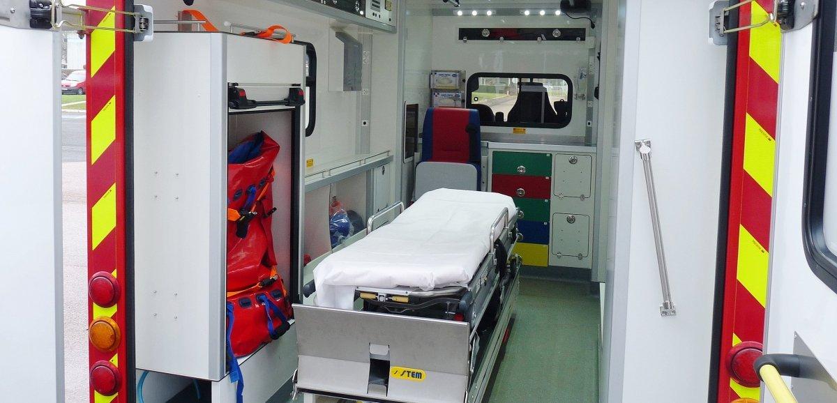 Près de Rouen. Un motard retrouvé inconscient après une chute