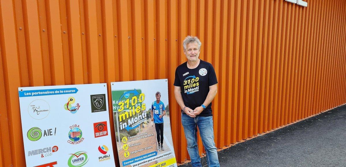 Patrick Malandain : 5 000 kilomètresde courseen boucle