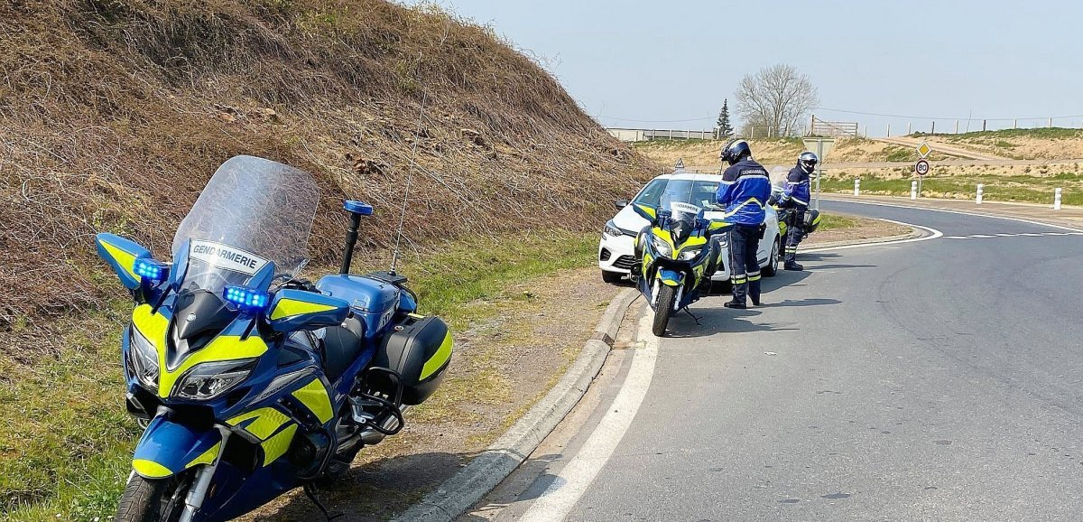 Plus de 50automobilistes verbalisés en un week-end