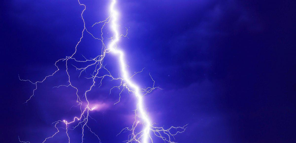 """Des orages """"brefs mais potentiellementviolents"""", alerte la préfecture"""