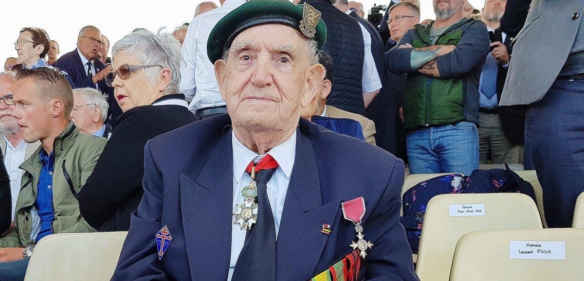 Le vétéran Léon Gautierdécoré de la Légion d'honneur