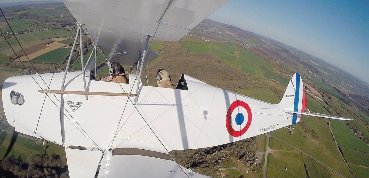 Argentan. Dans les airs: la Normandie comme vous ne l'avez jamais vue!
