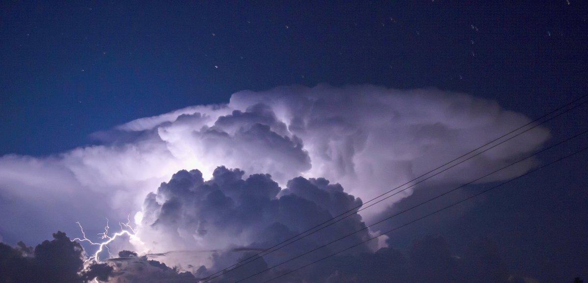 Trois départements en vigilance orange aux orages