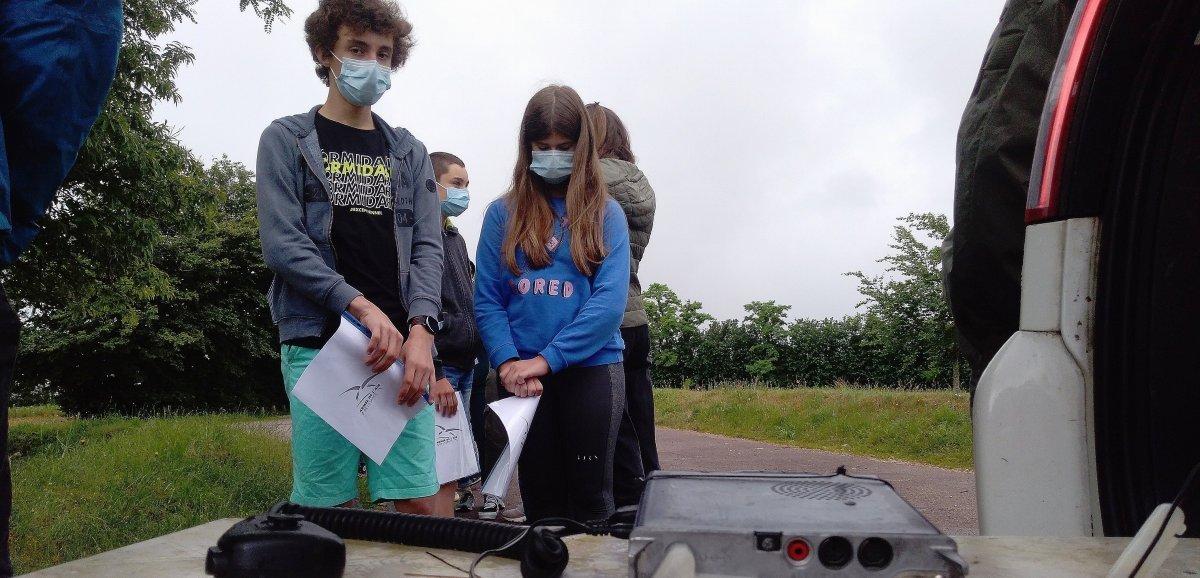 Contactimminent entre les élèves et Thomas Pesquet, à bord de l'ISS