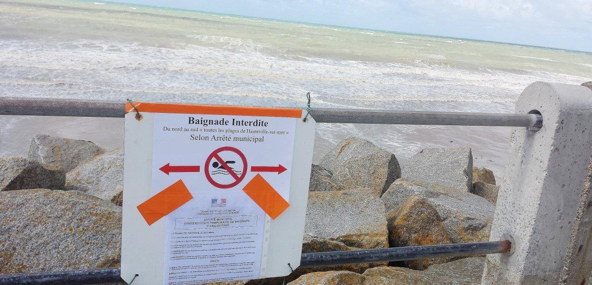 Manche. Mauvaise qualité des eaux: la baignade interdite surtrois plages