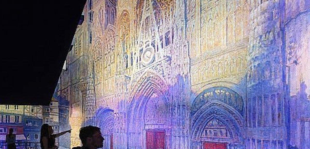 Rouen. Panorama XXL: Monet dévoile les moindres détails de sa cathédrale