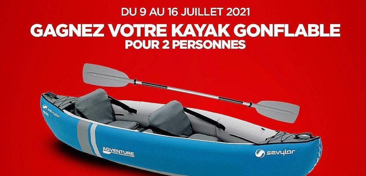 Gagnez cette semaine un kayak gonflable pour deux