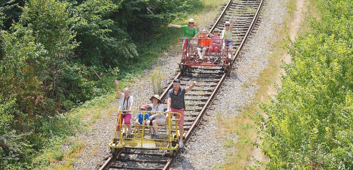 Une virée ludique sur les railsde laVallée du Noireau